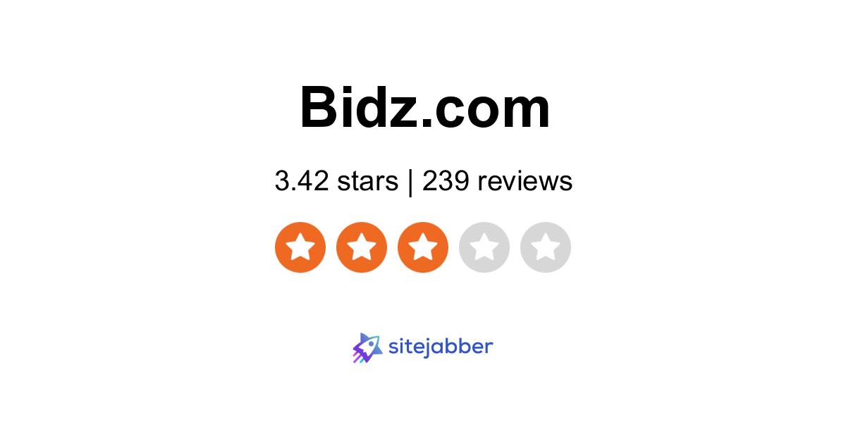 Bidz Reviews 230 Reviews Of Bidz Com Sitejabber